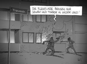 Nazianschlag_Karrikatur1