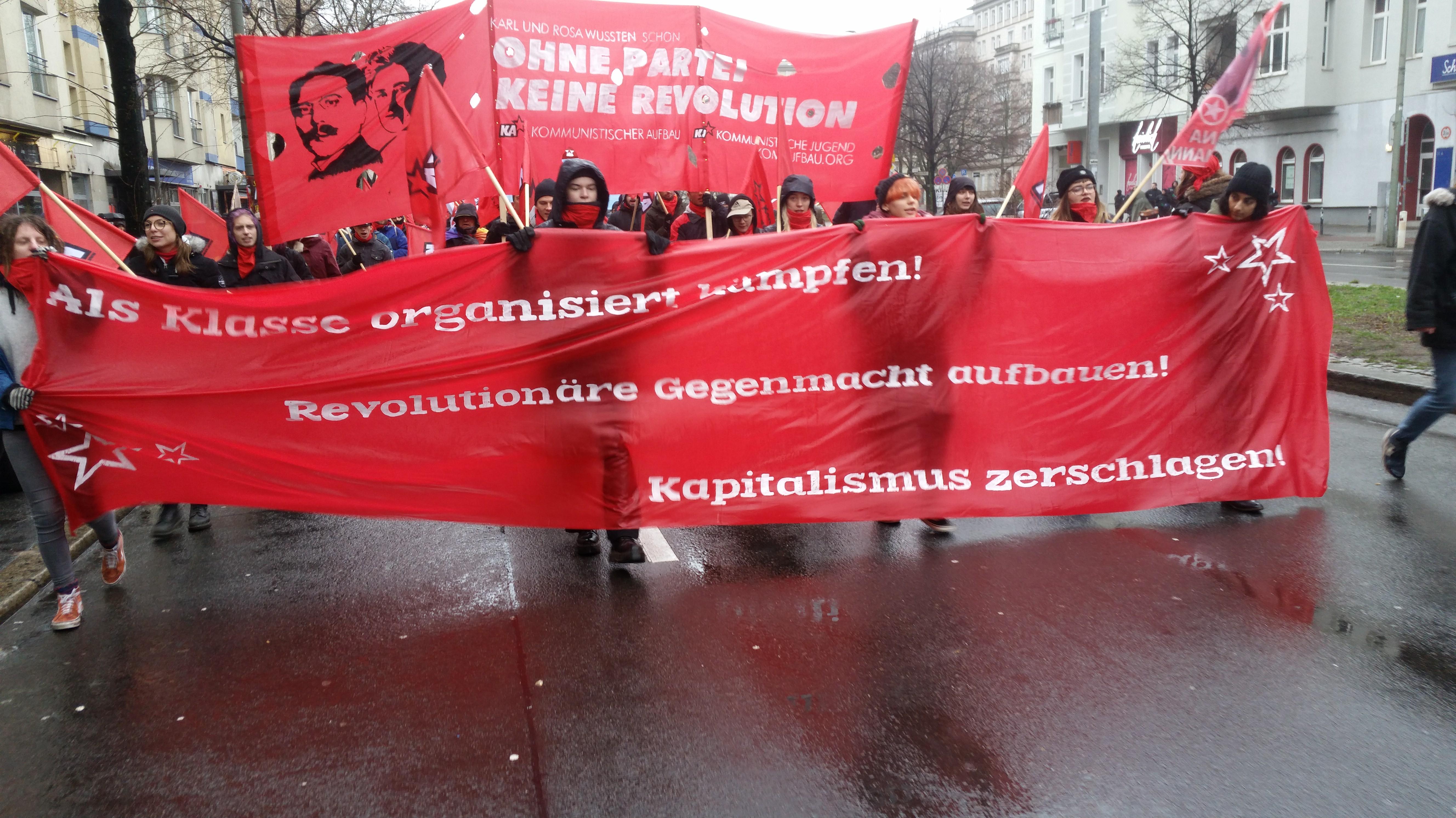 Bericht Zur 100 Jahre Novemberrevolution-kampagne