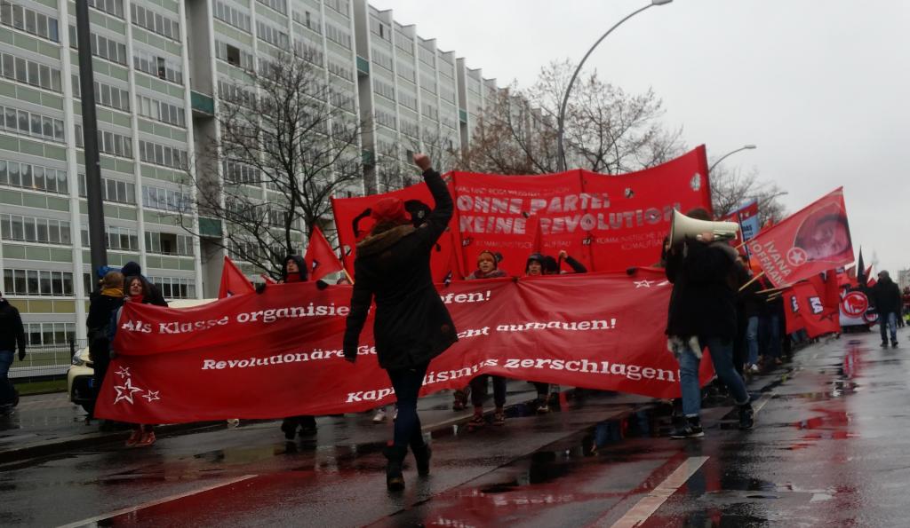 Karl Und Rosa Wussten Schon  U2013 Ohne Partei Keine Revolution